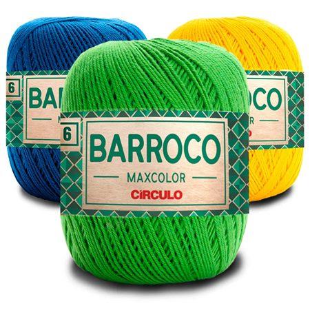 BARBANTE BARROCO MAXCOLOR FIO Nº 6 200G
