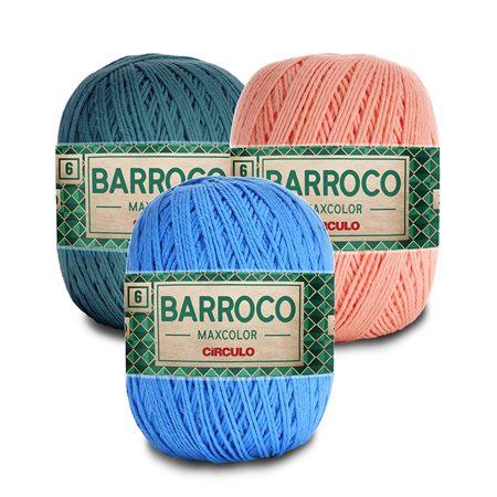 Barbante Barroco Maxcolor Fio nº 6 400g